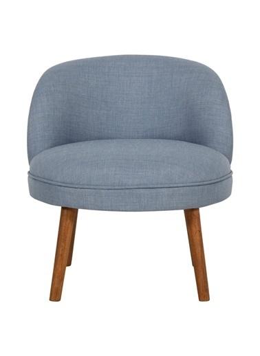Ze10 Design Nice Tekli Koltuk İndigo Mavi Mavi